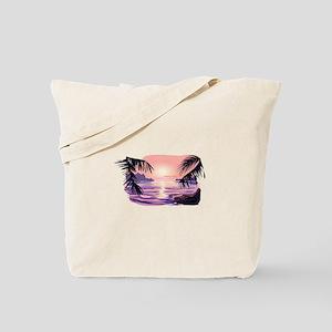 TROPICAL SUNSET [2] Tote Bag